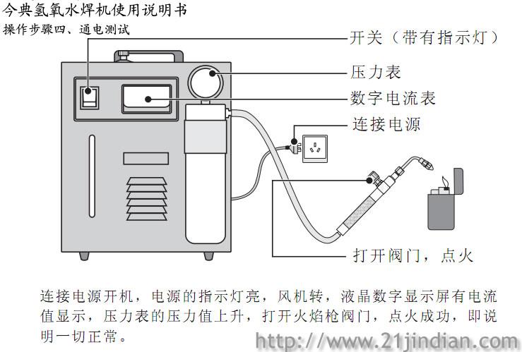 氢氧发生器原理图氢氧燃料电池